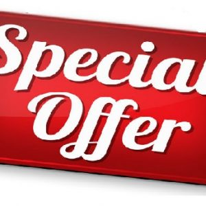 Special Offers!!